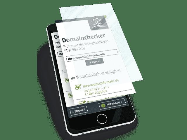 Auf den mobilen Geräten Ihrer Kunden.