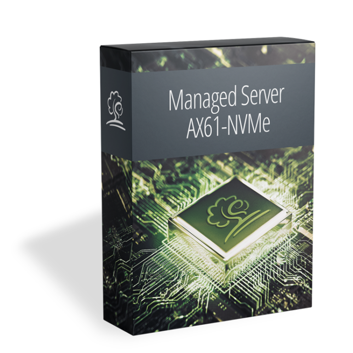 AX61-NVMe als Managed Server