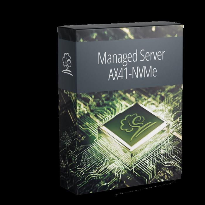 Der AX41-NVMe als Managed Server